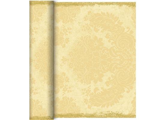 Duni Dunicel-Tischläufer Tête-à-Tête Royal Cream, 40cm breit, perforiert 1 Stück