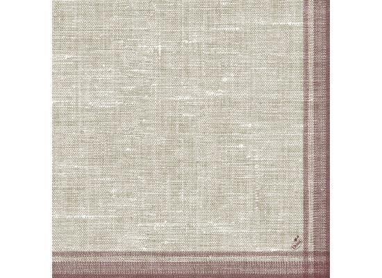 Duni Dunilin-Servietten, Motiv Linus bordeaux 40x40 cm 50 St.
