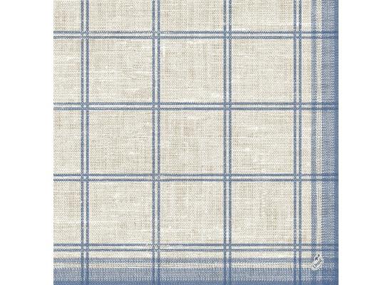 Duni Dunilin-Servietten, Motiv Linus Classic blue 40x40 cm 50 St.