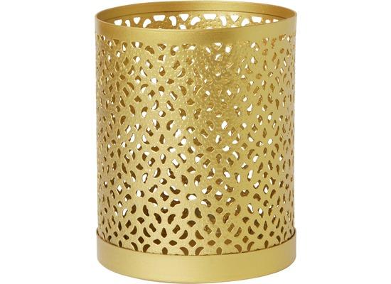 Duni Kerzenhalter aus Metall für Maxi-Teelichte oder LED Bliss gold 100 x 80 mm 1 Stück