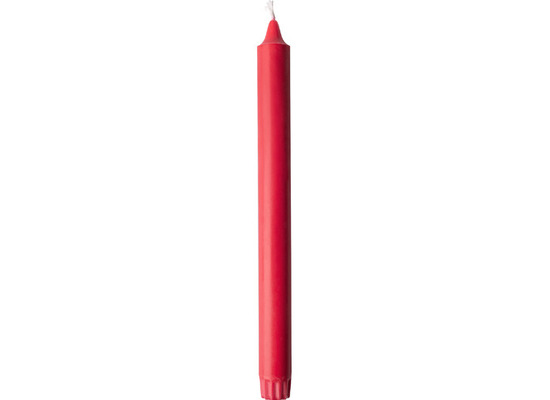 Duni Kronenkerzen 100% Stearin rot 250 x 22 mm 4 Stück