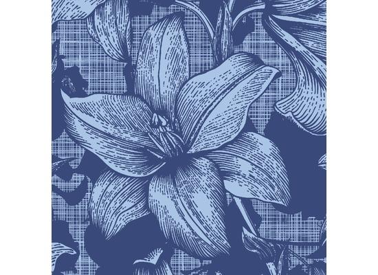 Duni Servietten 3-lagig Motiv Firenze Blue 24 x 24 cm 20 Stück
