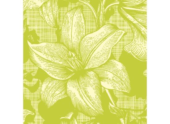 Duni Servietten 3-lagig Motiv Firenze Lime 24 x 24 cm 20 Stück