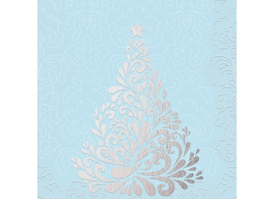duni servietten 3 lagig motiv silver trees mint blue 33 x 33 cm 20 st ck bei kaufen. Black Bedroom Furniture Sets. Home Design Ideas
