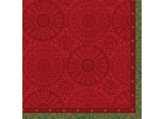 Duni Servietten Motiv Festive Charme Red 40 x 40 cm 12 Stück