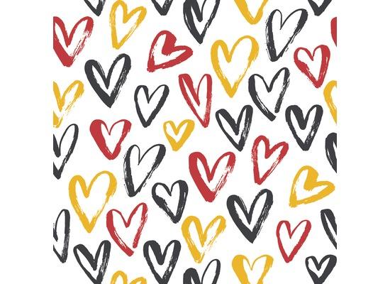 Duni Servietten Tissue Heart Soccer 24 x 24 cm 20 St.