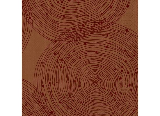 Duni Zelltuchservietten Earthy 24 x 24 cm 50 Stück