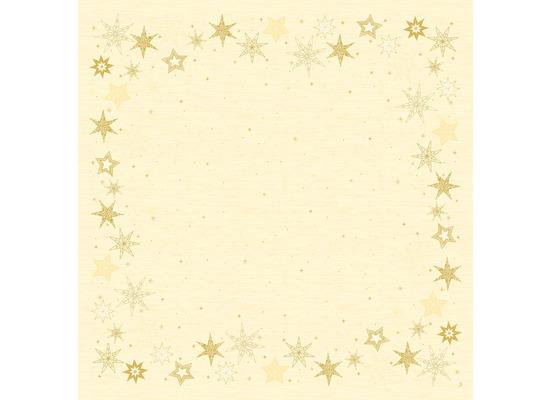 Duni Dunicel-Mitteldecken 84 x 84 cm Star Stories Cream