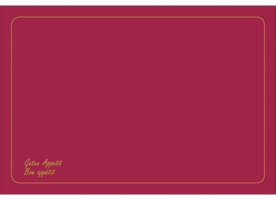 Duni Dunicel-Sets 33 x 48 cm Bon Appétit Bordeaux 500 Stk.