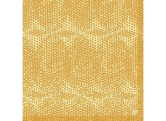 Duni Dunilin-Servietten 1/4 Falz 40 x 40 cm Organic Honey, 50 Stück