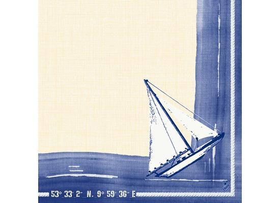 duni dunilin servietten 1 4 falz 40 x 40 cm sailing 50 st ck bei kaufen. Black Bedroom Furniture Sets. Home Design Ideas