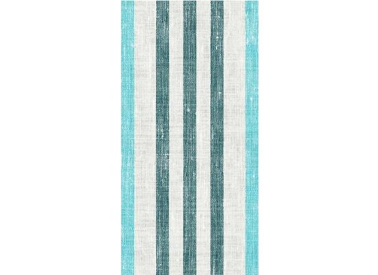 Duni Dunisoft-Servietten Raya blue 20 x 40 cm 1/8 Kopffalz 120 Stück