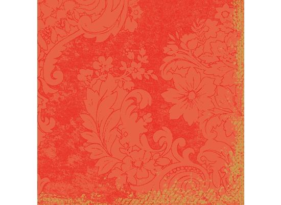 Duni Dunisoft® Servietten Royal Mandarin 40 x 40 cm 12 Stück