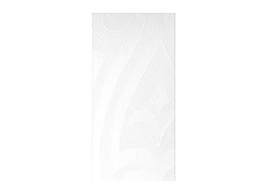 Duni Elegance-Servietten 48x48cm 1/8 F. Lily weiss, 40 Stück