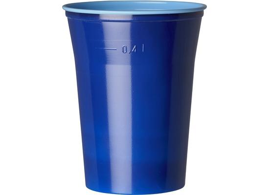duni gl ser plastik colorix 50 cl 10 st ck blau einweggeschirr einwegbecher glas bei. Black Bedroom Furniture Sets. Home Design Ideas