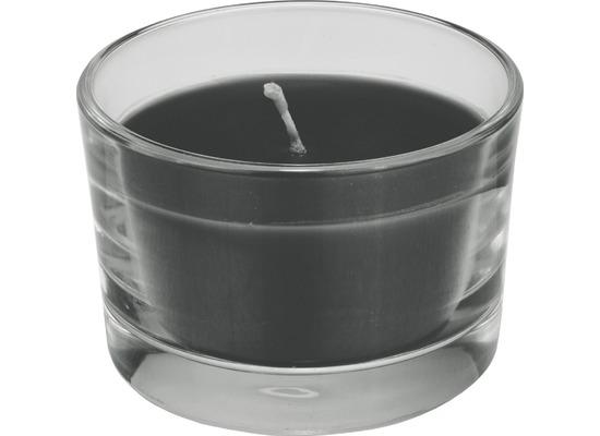 Duni Glas Kerzengläser schwarz ø 8,5 cm, Höhe 5,5 cm 1 Stück