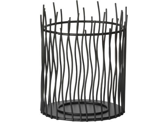duni kerzenhalter aus metall astilla black 150 x 120 mm kerzen kerzenuntersetzer teelichtglas. Black Bedroom Furniture Sets. Home Design Ideas