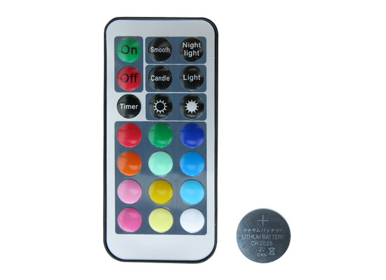Duni LED-Ersatzfernbedienung, multicolour