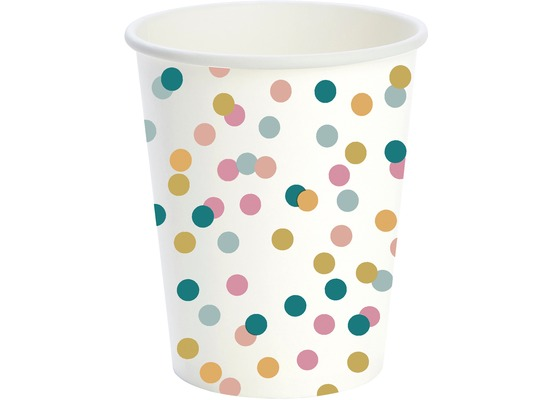 Duni Pappe Becher Dream Dots 24 cl 10 Stück