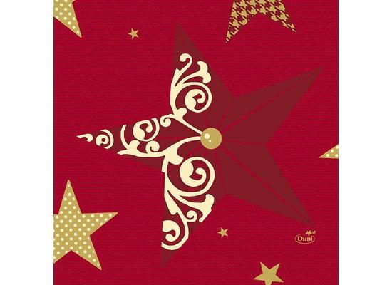 Duni Servietten 3-lagig Motiv Walk of Fame red 24 x 24 cm 50 Stück