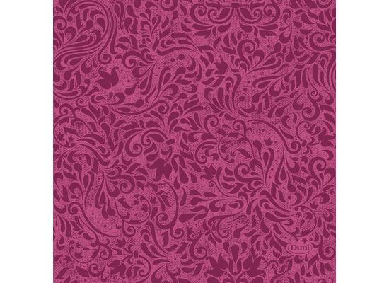 Duni Servietten Tissue Zinnia Fuchsia 24 x 24 cm 20 Stück