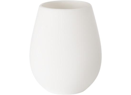 Duni Silikon Kerzenhalter Tropical Silikon, weiß 103 x 85 mm 1 Stück