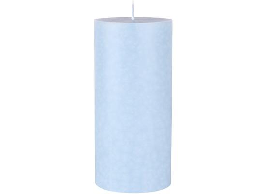 Duni Stearin Stumpenkerzen soft blue ca. 7 x 15 cm 1 Stück