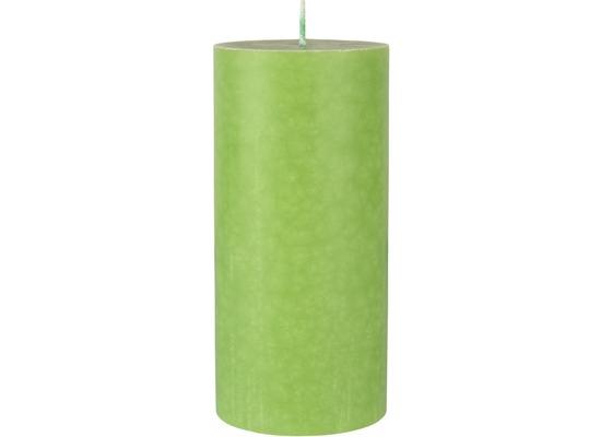 Duni Stumpenkerzen leaf green ø 7 cm, Höhe 15 cm 1 Stück