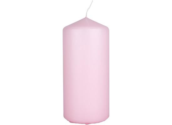 Duni Stumpenkerzen soft pink ca. 7 x 15 cm 1 Stück