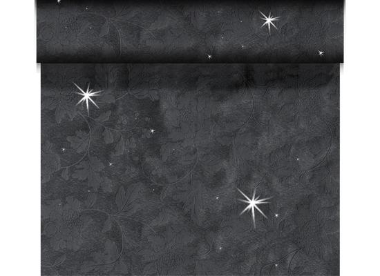 Duni Tischläufer 3 in 1 Motiv Brilliance Black 45 x 2400 cm 1 Stück