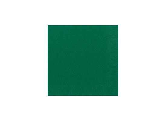 Duni Tissue Servietten dunkelgrün 33 x 33 cm 50 Stück