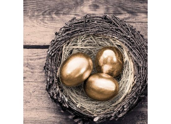 Duni Tissue Servietten Golden Eggs 33 x 33 cm 20 Stück