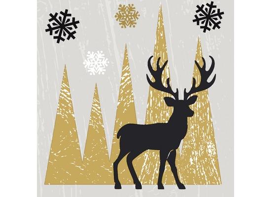 Duni Tissue Servietten Oh Deer 24 x 24 cm 20 Stück