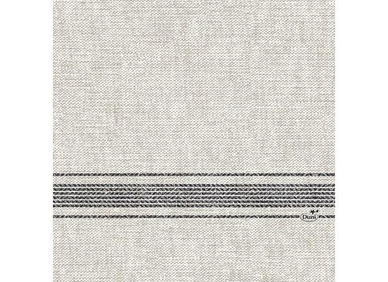 Duni Zelltuchservietten Cocina black 33 x 33 cm 1/4 Falz 250 Stück