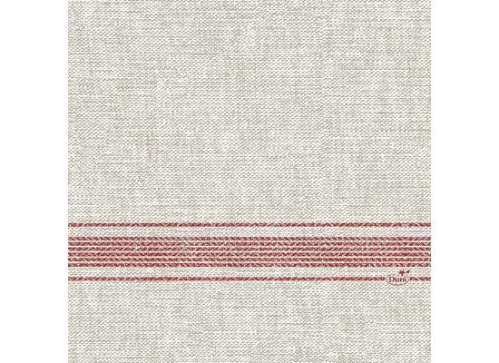 Duni Zelltuchservietten Cocina bordeaux 33 x 33 cm 1/4 Falz 50 Stück