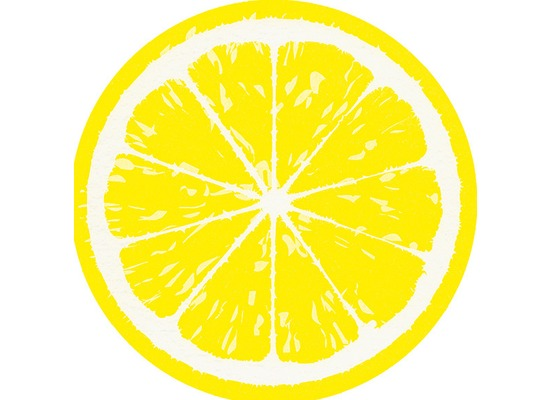 Paper+Design Airlaid Servietten Lemon 33 x 33 cm 12 Stück