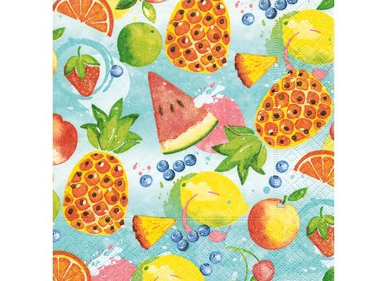 Paper+Design Servietten Tissue Tropical fruits 25 x 25 cm 20er