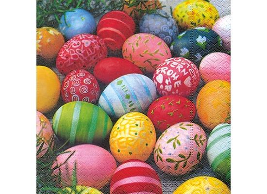 Paper+Design Tissue Servietten Colourful Eggs 33 x 33 cm 20 Stück