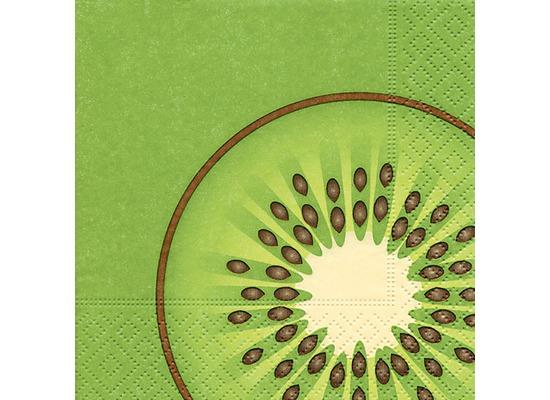 Paper+Design Tissue Servietten Kiwi 25 x 25 cm 20 Stück