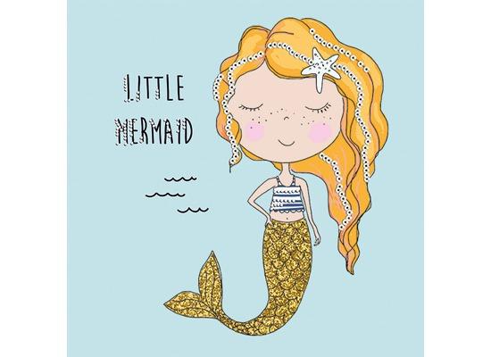 Paper+Design Tissue Servietten Little mermaid 33 x 33 cm 20 Stück