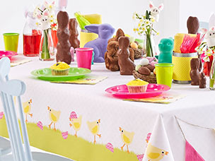 Tischdekoration Ostern Duni Servietten